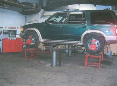 Four Wheel Alignment Rack