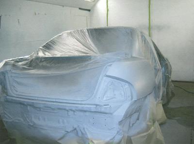 Heated Spray Booth