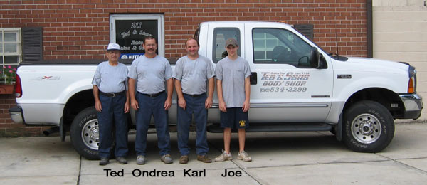 Ted and Sons team